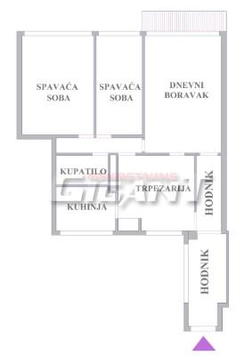 Novi Beograd Blok 29 80m2 92000e
