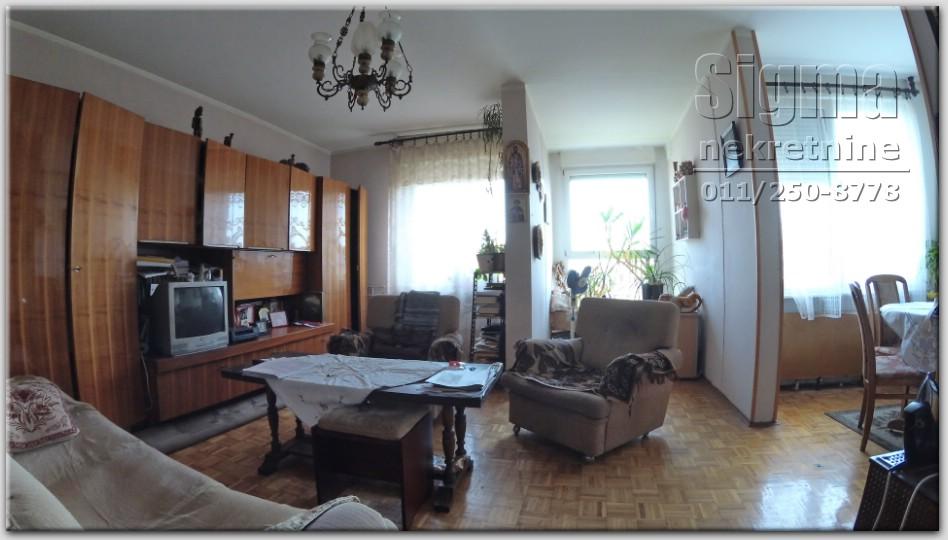 Stan , Cukarica , Beograd (grad) , Prodaja   Stan Uknjižen Cukarica Julino Brdo 64M2 59000E