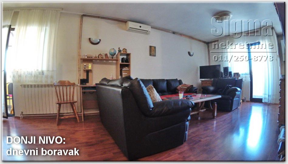 Stan , Cukarica , Beograd (grad) , Prodaja | Stan Uknjižen Cukarica Bele Vode 110M2 77000E